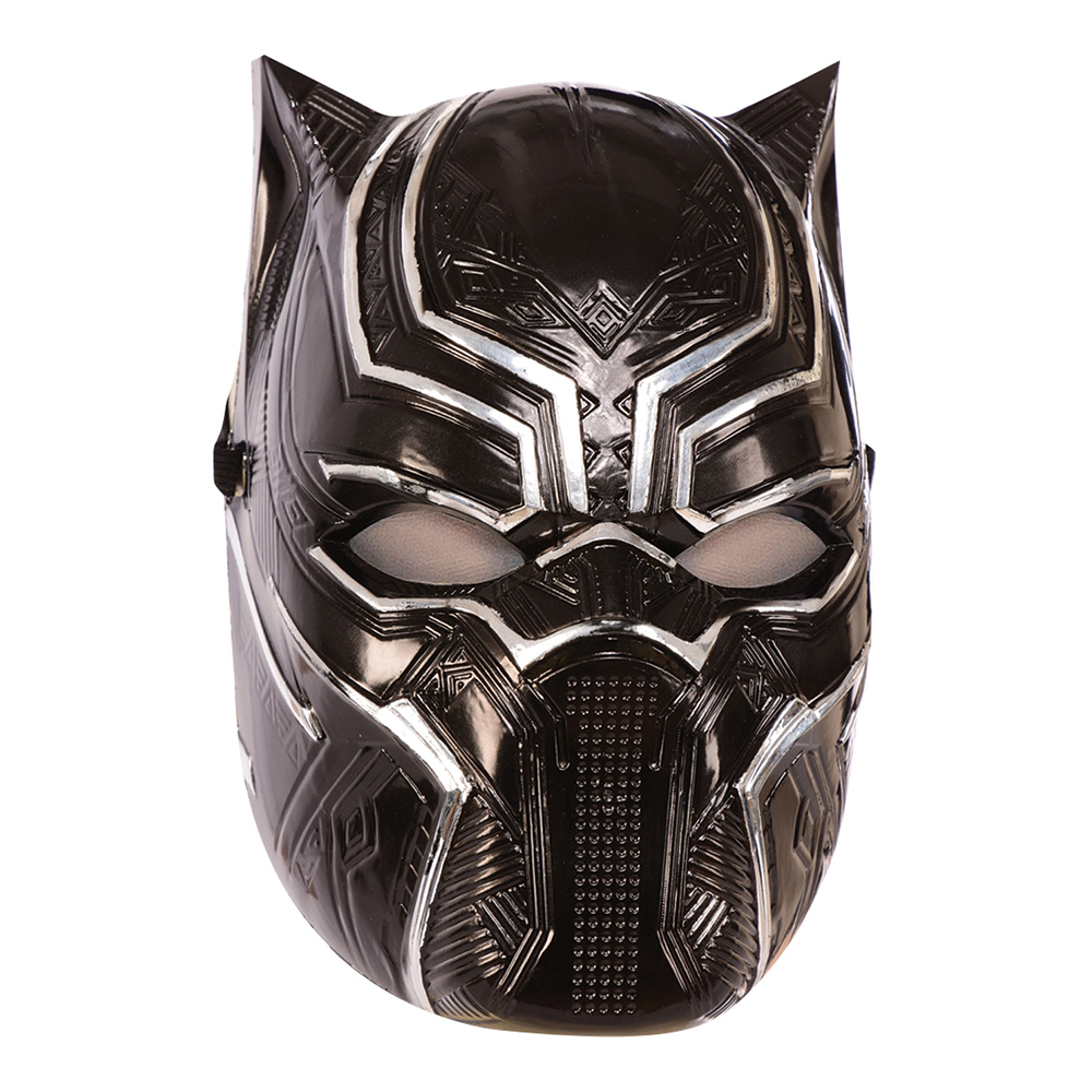 Black Panther Halvmask - One size