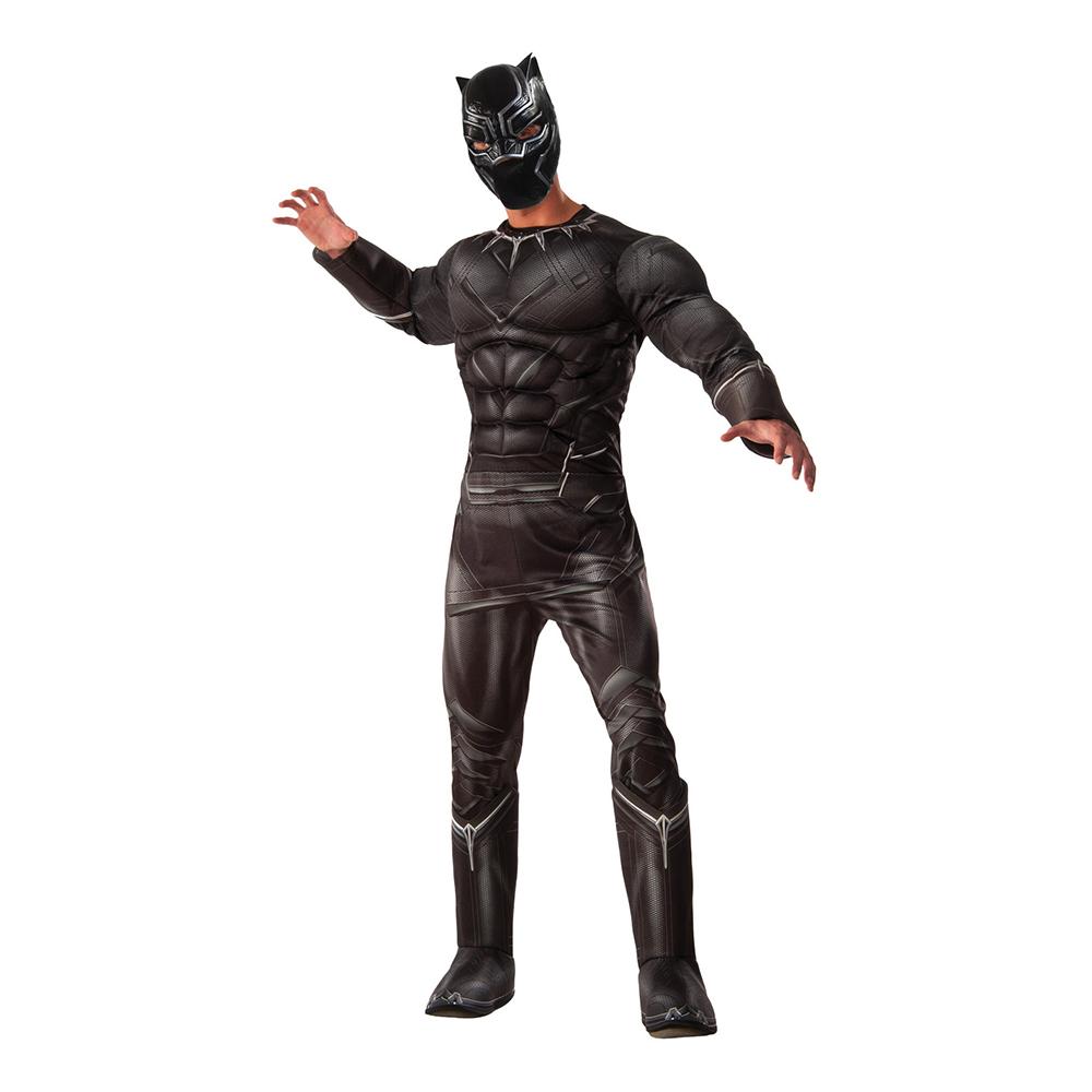 Black Panther Maskeraddräkt - Standard