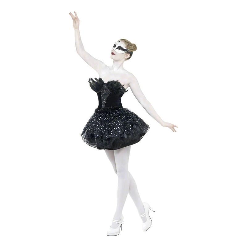 Black Swan Ballerina Maskeraddräkt - Small