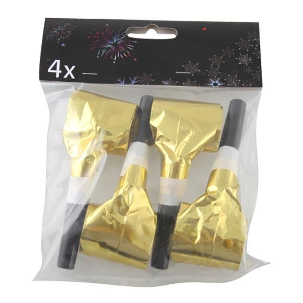 Blåsormar Guldfärgade - 4-pack