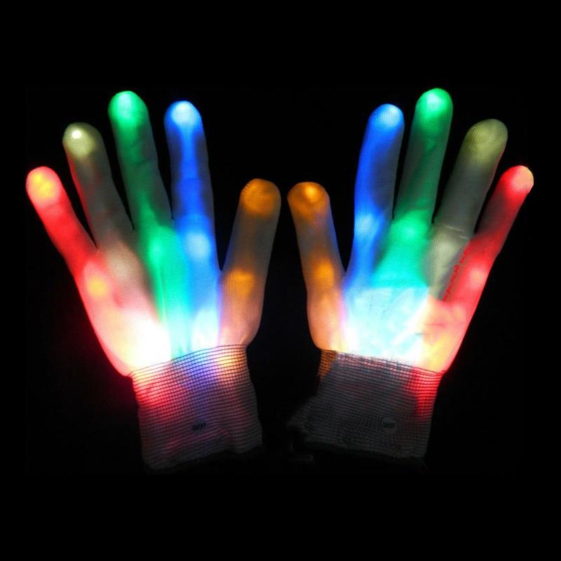 Blinkande Handskar - One size