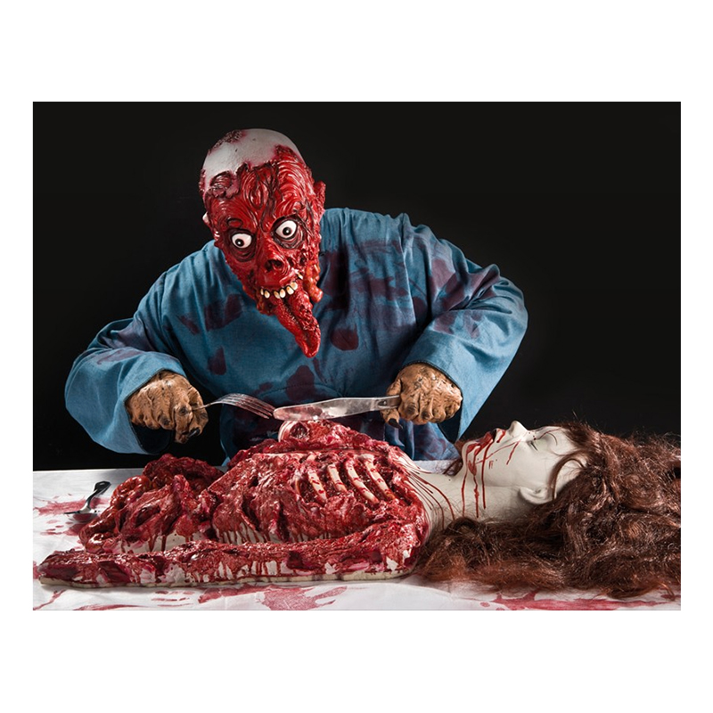 Blodigt Zombieoffer Prop