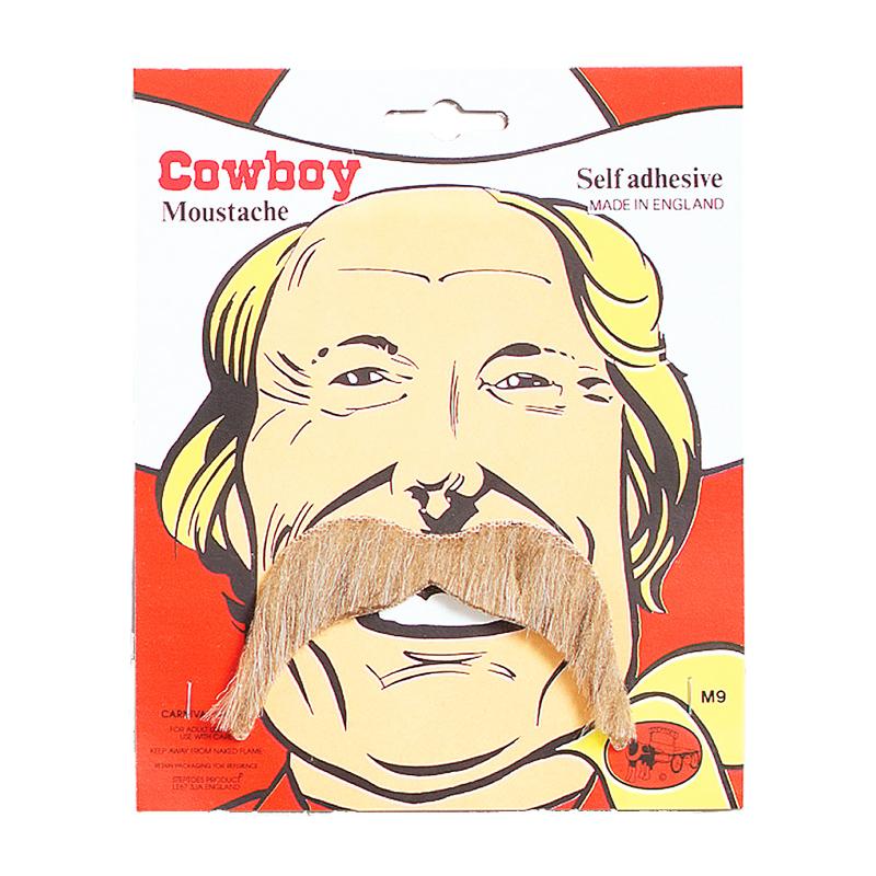 Blond Cowboy Mustasch