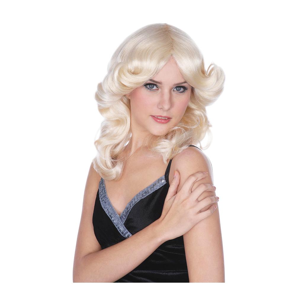Blond Madonna Peruk