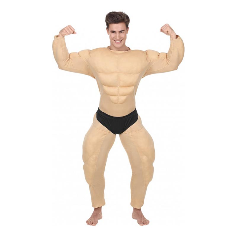 Bodybuilder Maskeraddräkt - Small
