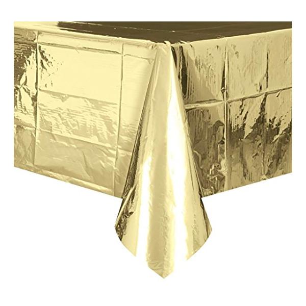 Bordsduk Guld Metallic
