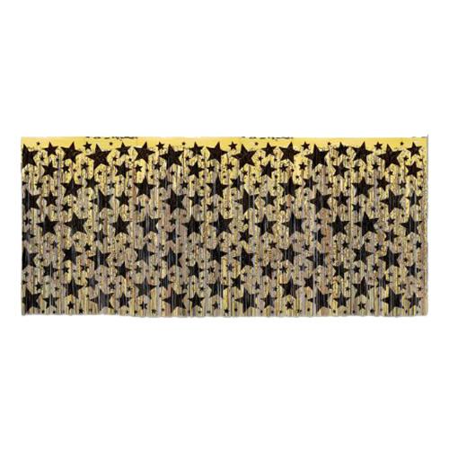 Bordskjol Guld med Stjärnor