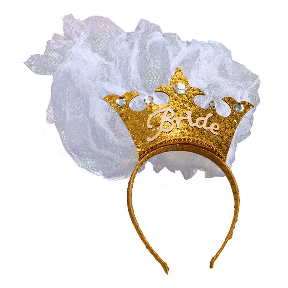 Bride to Be Krona med Slöja