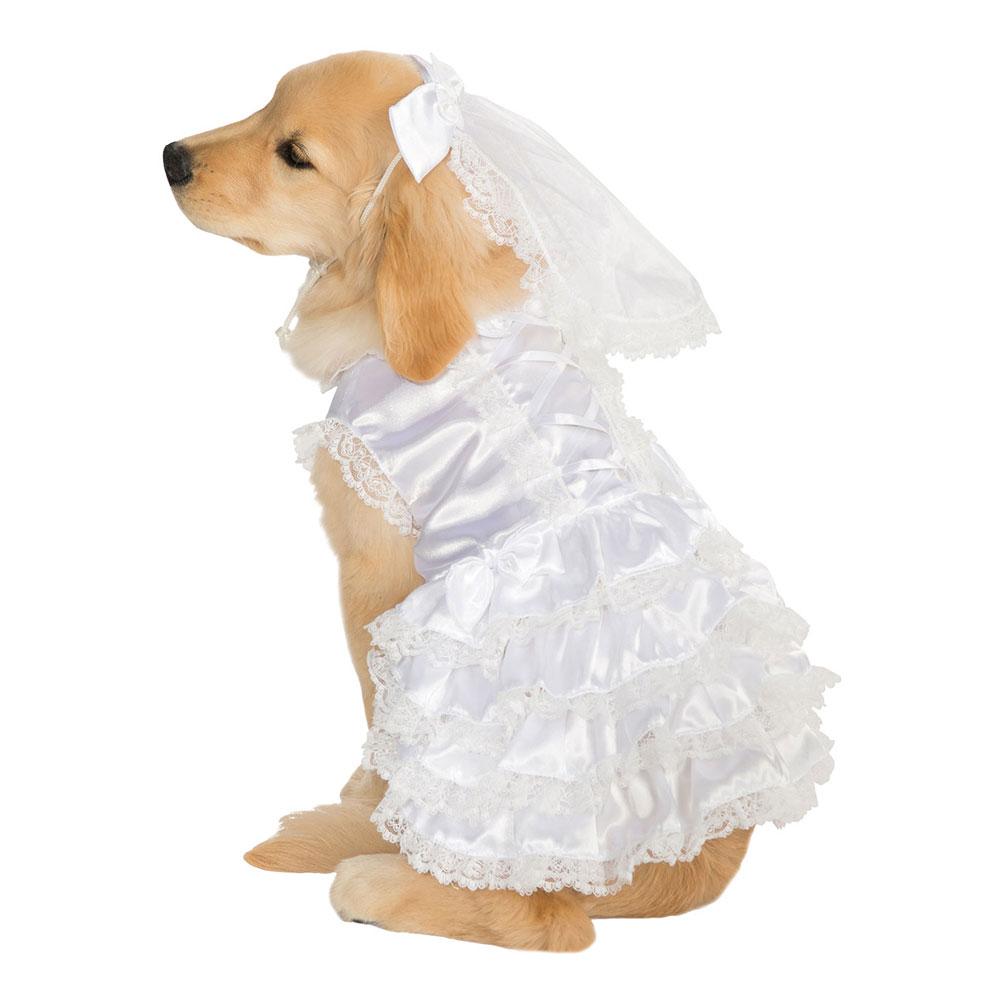 Brudklänning Hund Maskeraddräkt - Small