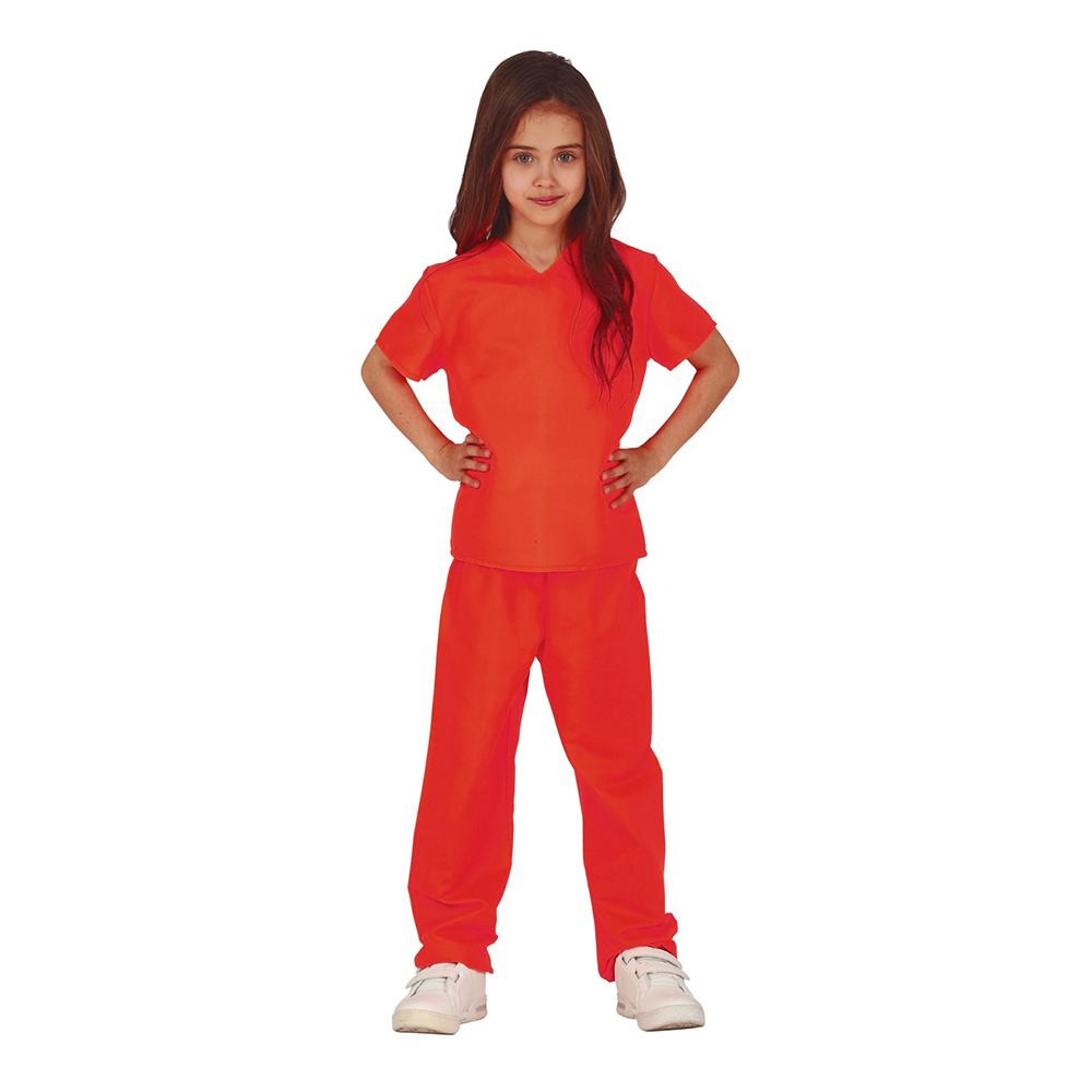 Brottsling Barn Maskeraddräkt - 5-6 år