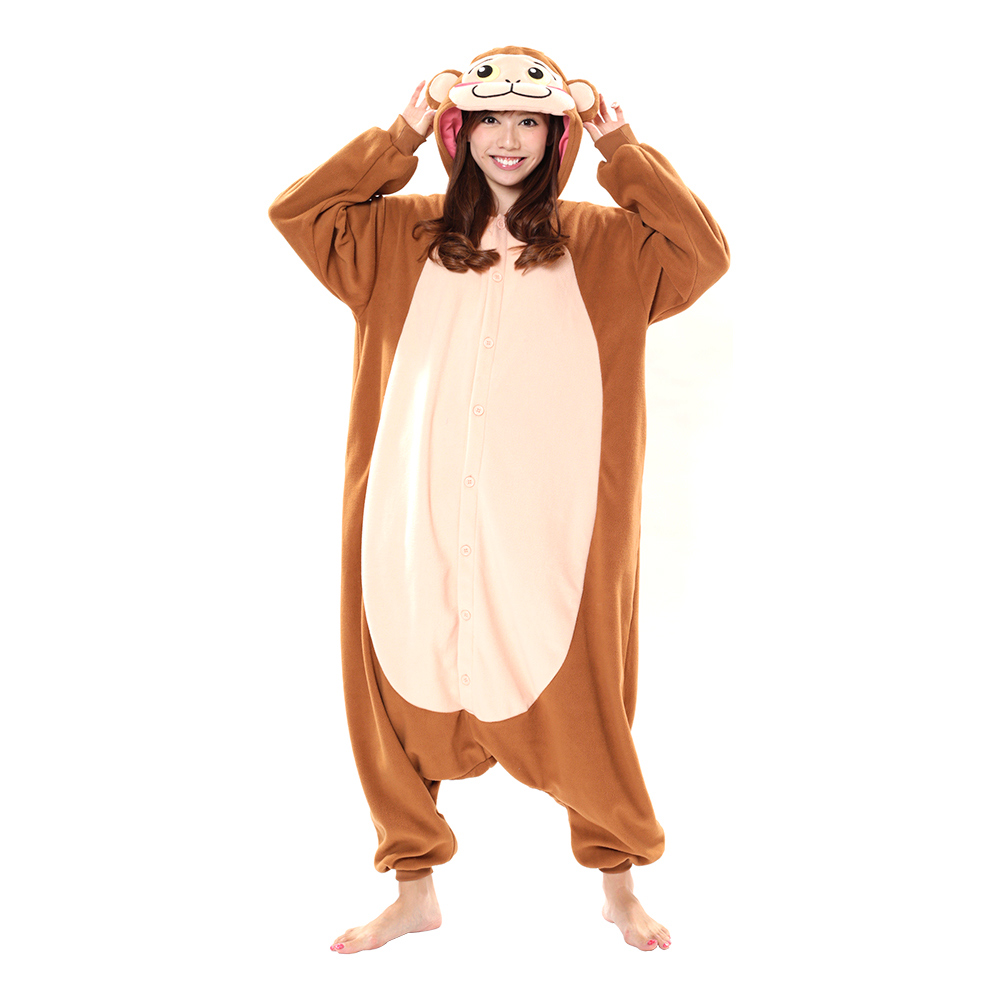 Brun Apa Kigurumi - Medium