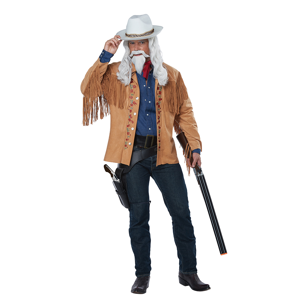 Buffalo Bill Cowboy Maskeraddräkt - Small/Medium
