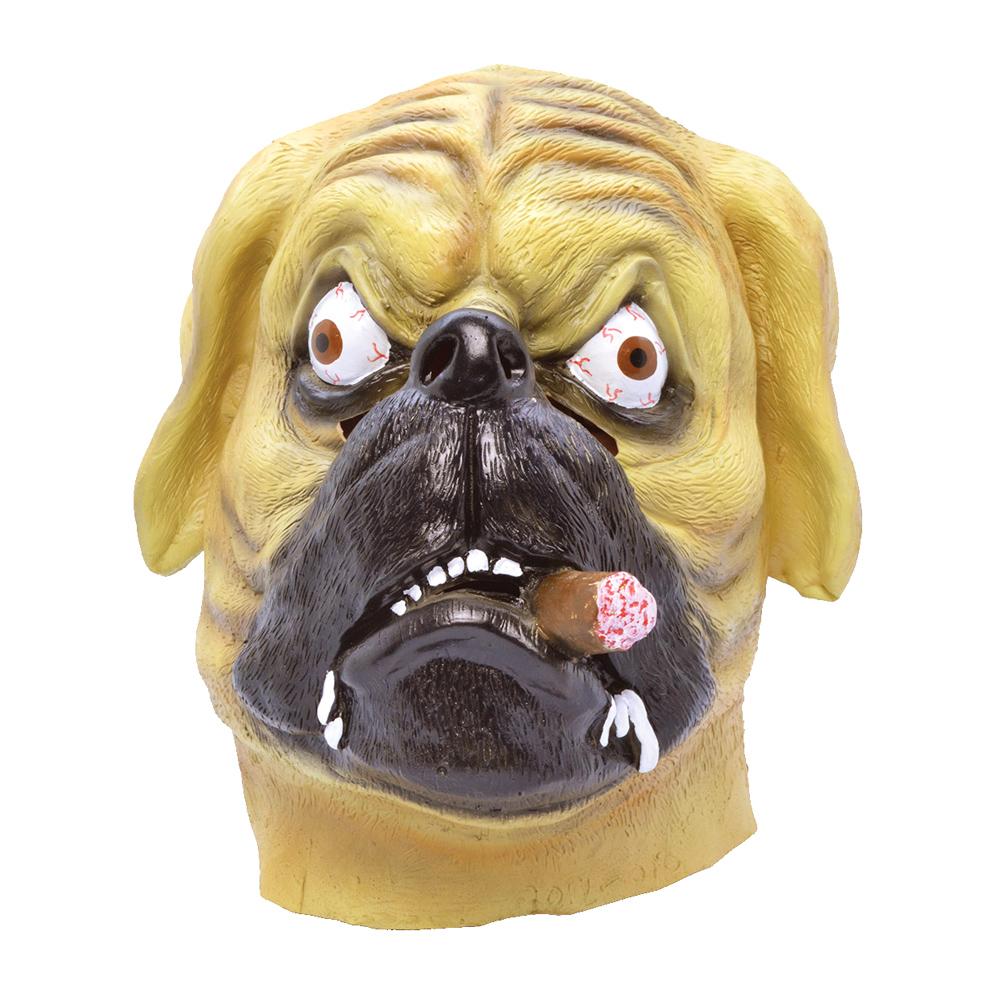 Bulldogmask med Cigarr - One size