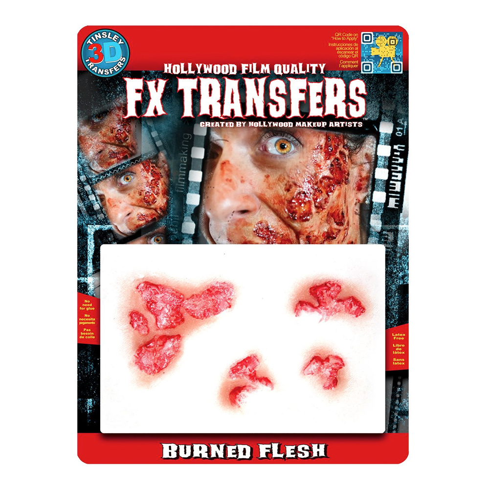 Burned Flesh FX Transfers