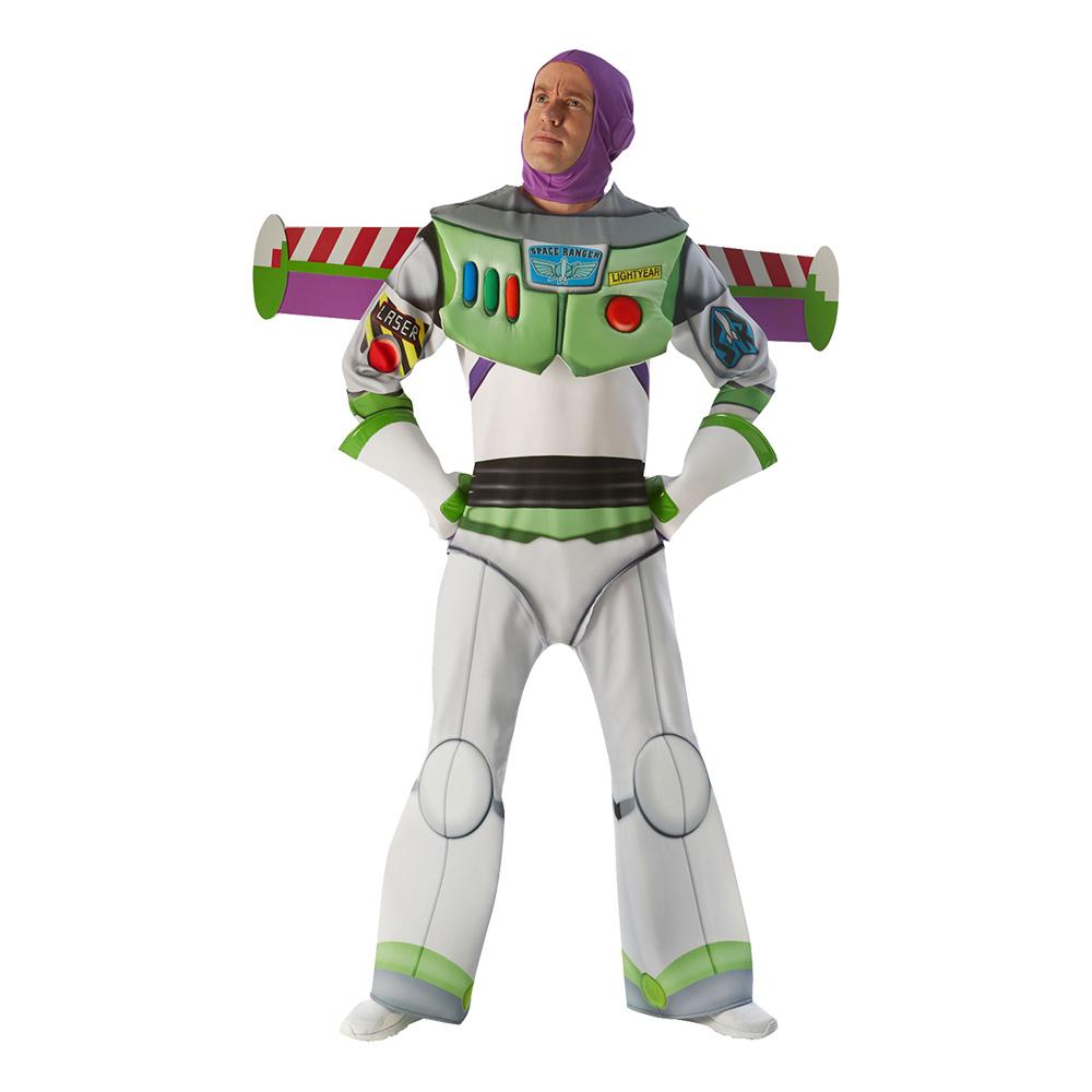 Buzz Lightyear Super Deluxe Maskeraddräkt - Standard