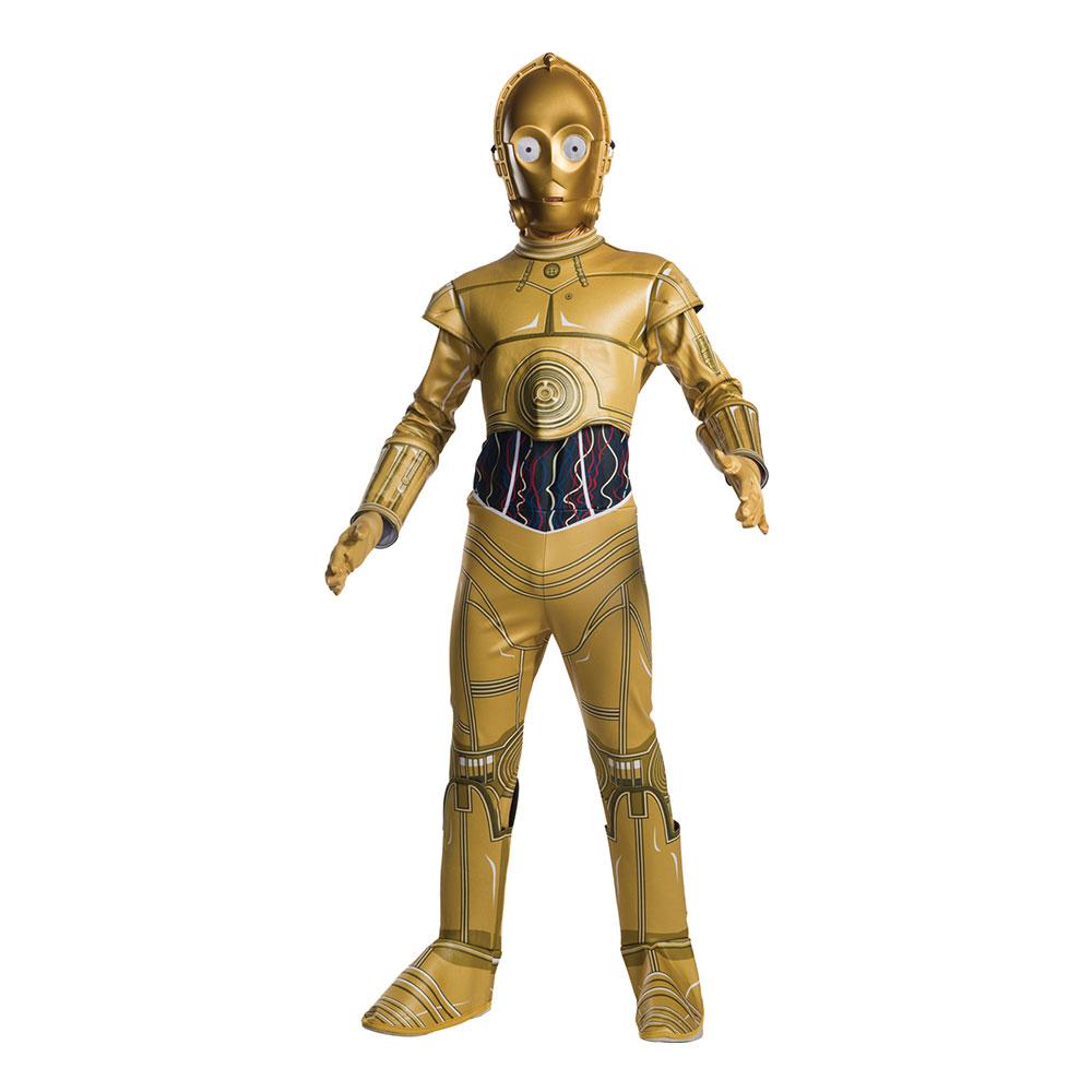 C-3PO Barn Maskeraddräkt - Small