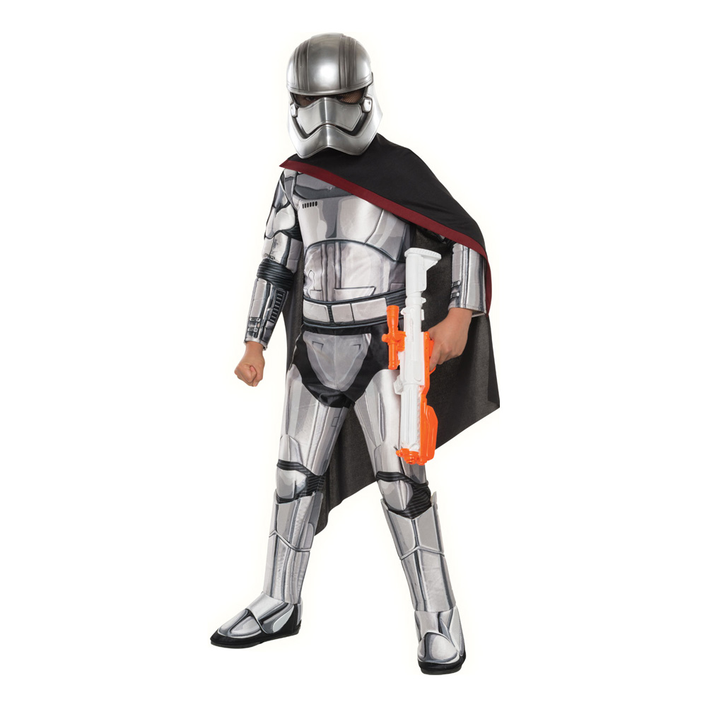 Captain Phasma Deluxe Barn Maskeraddräkt - Small