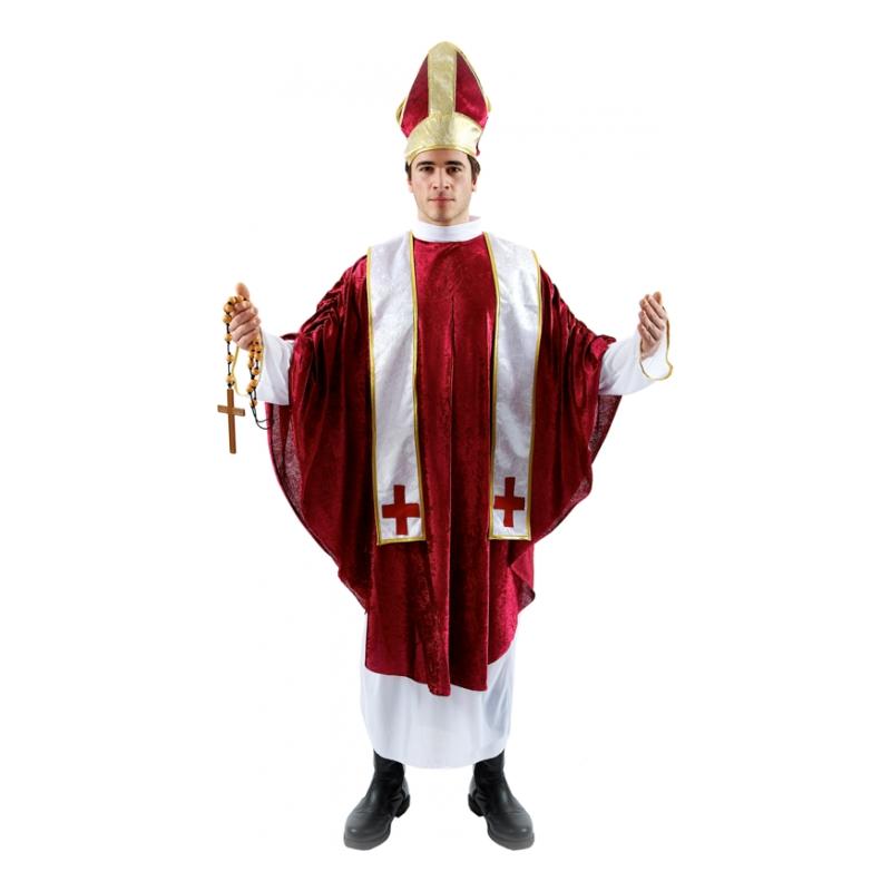 Kardinal Röd Maskeraddräkt - One size