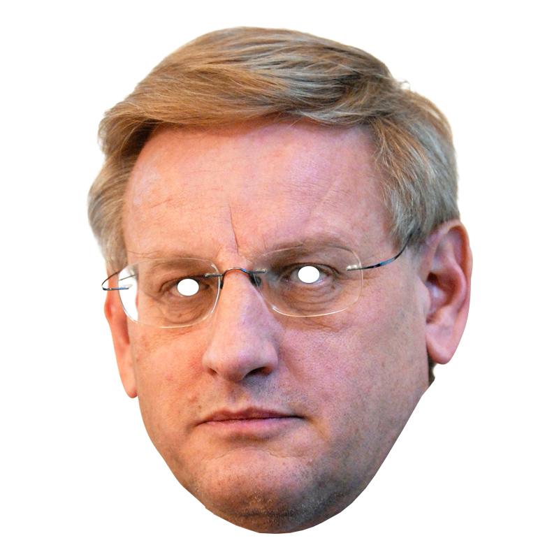 Carl Bildt Pappmask - One size