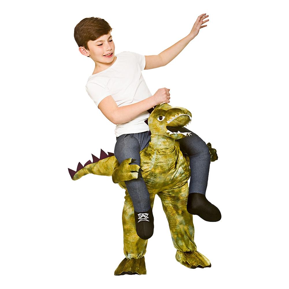 Dinosauriedräkter - Carry Me Dinosaurie Barn Maskeraddräkt - One size