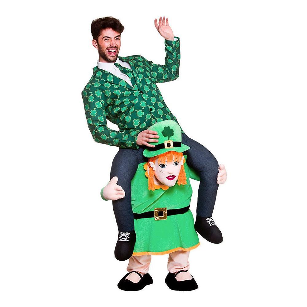 Carry Me Kvinnlig Leprechaun Maskeraddräkt