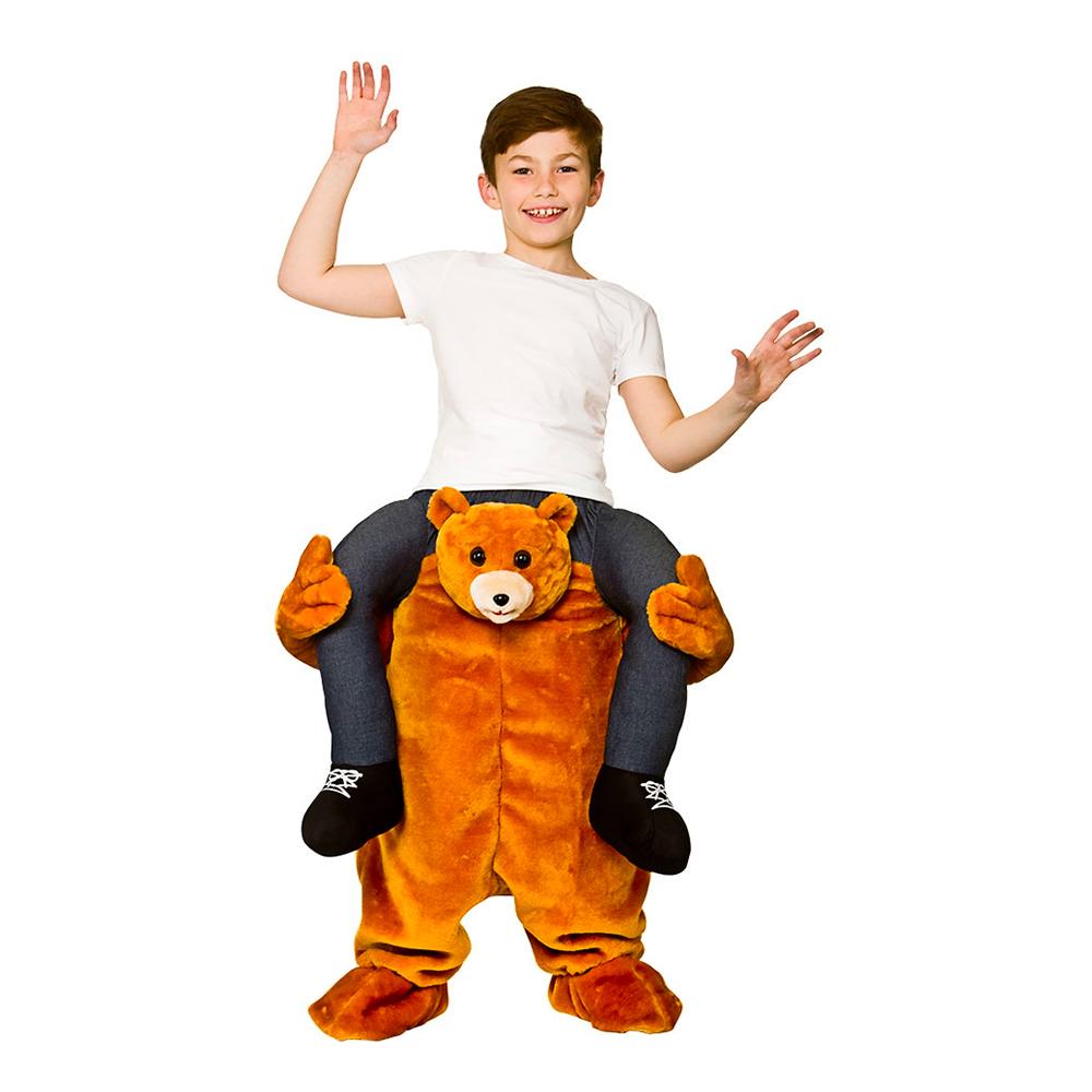 Carry Me Nalle Barn Maskeraddräkt - One size