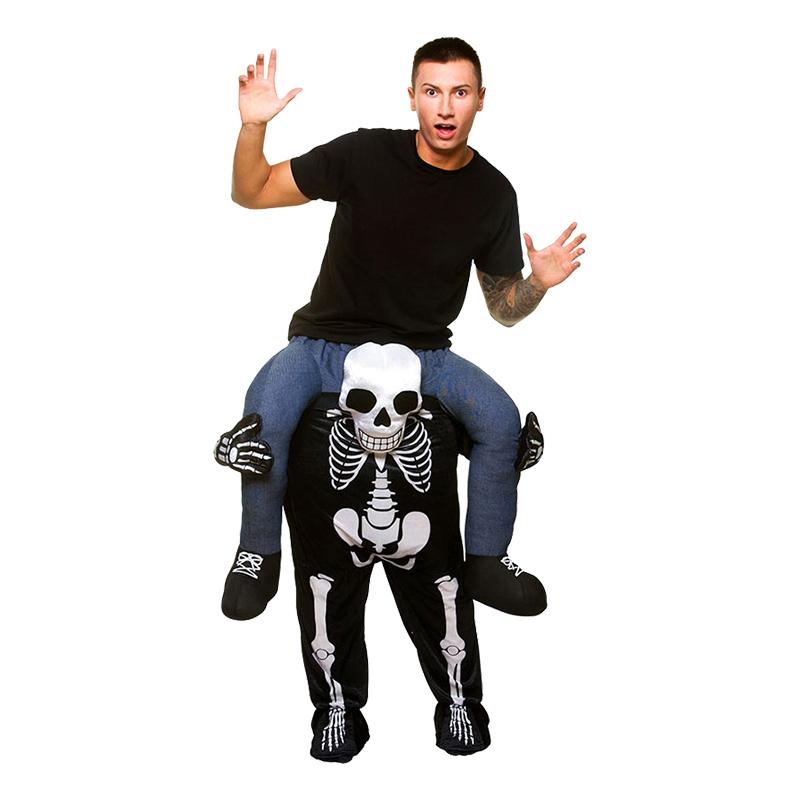 Carry Me Skelett Maskeraddräkt - One size