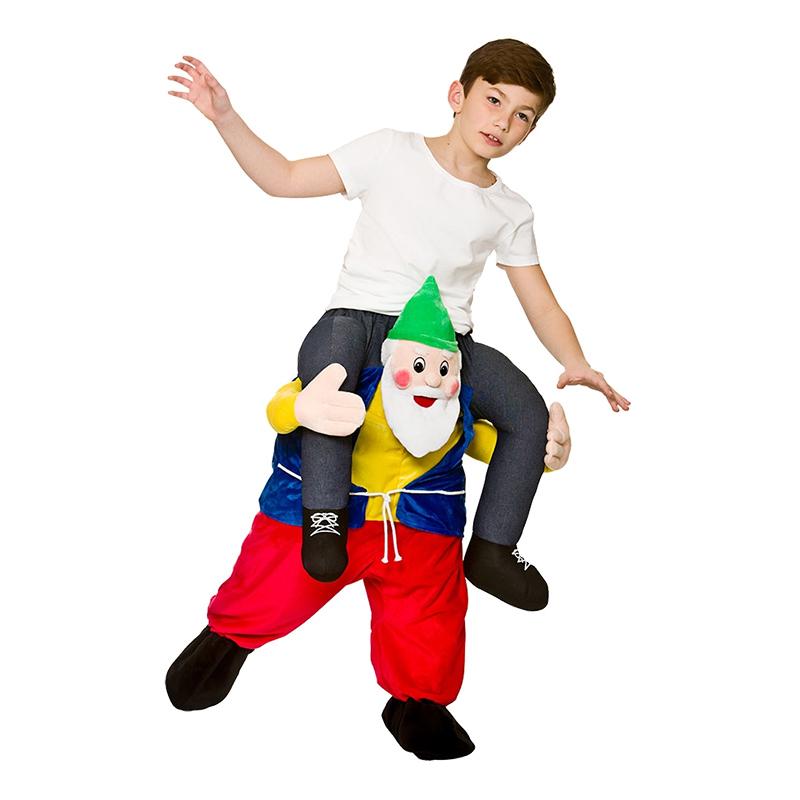 Carry Me Trädgårdstomte Barn Maskeraddräkt - One size