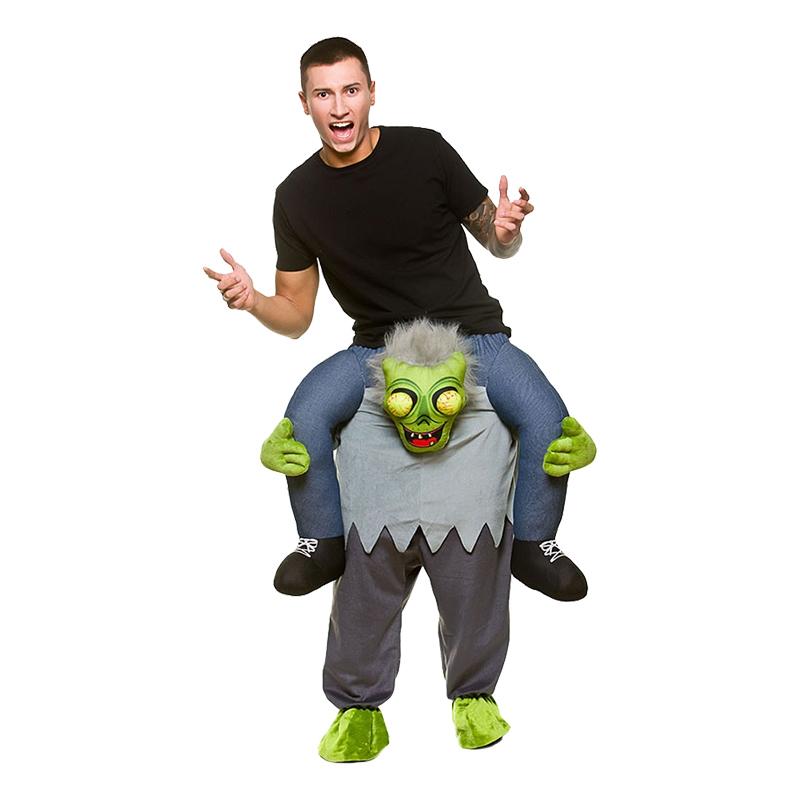 Carry Me Zombie Maskeraddräkt - One size