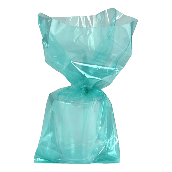 Cellofanpåsar Mintgrön Stora - 25-pack