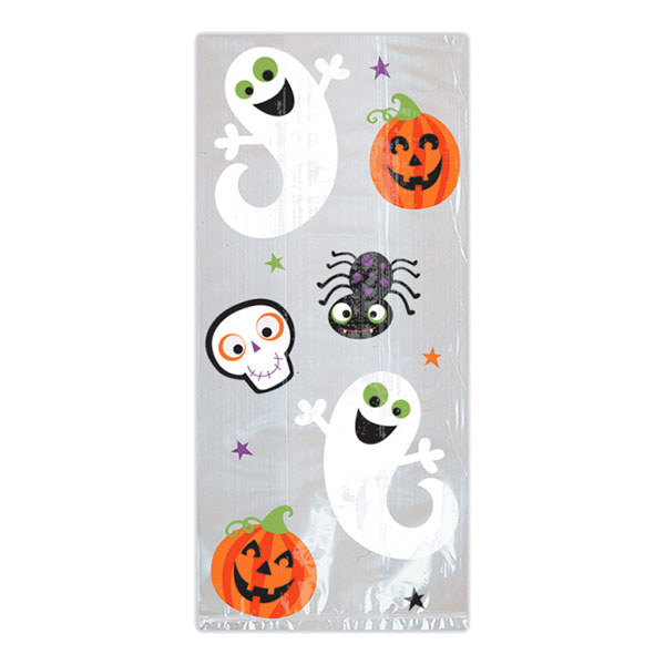Cellofanpåsar Trick Or Treat - 20-pack