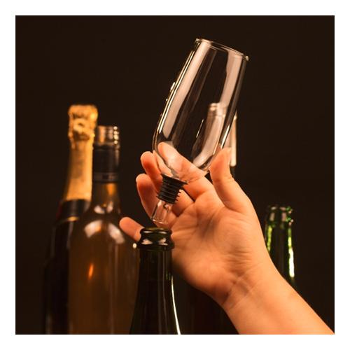Champagneglas för Flaska