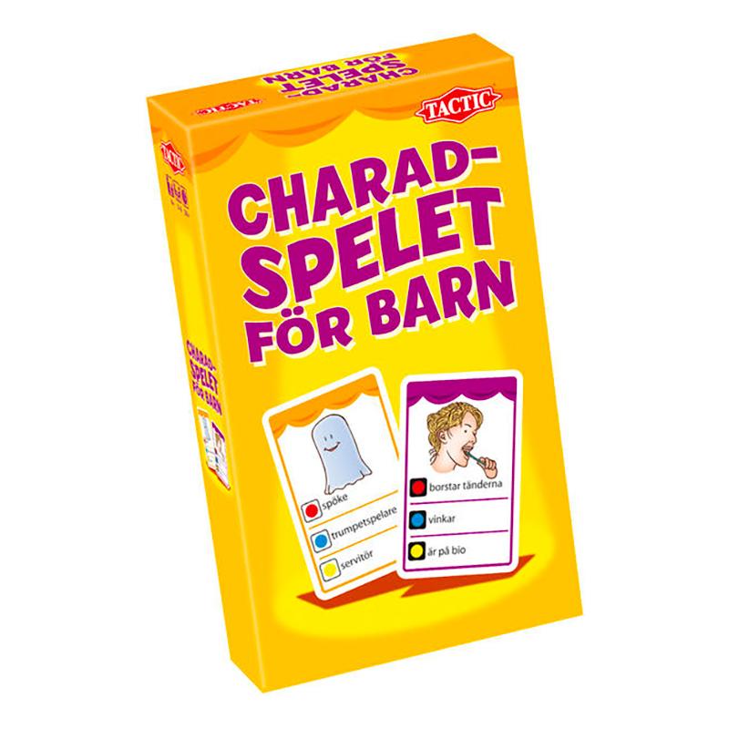 Charadspelet för Barn