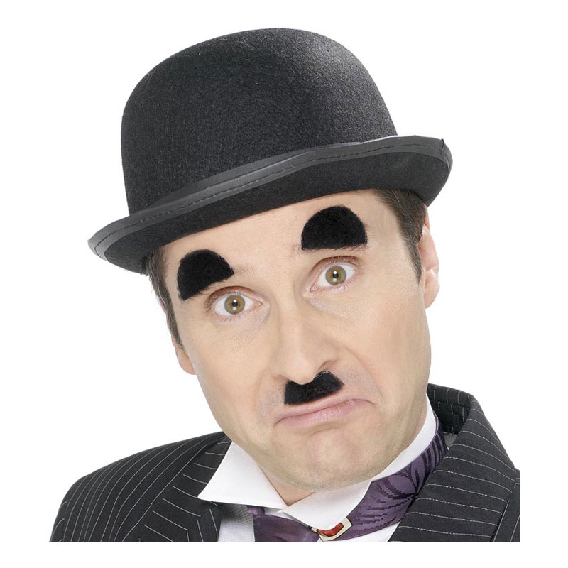 Charlie Chaplin Ögonbryn & Mustasch