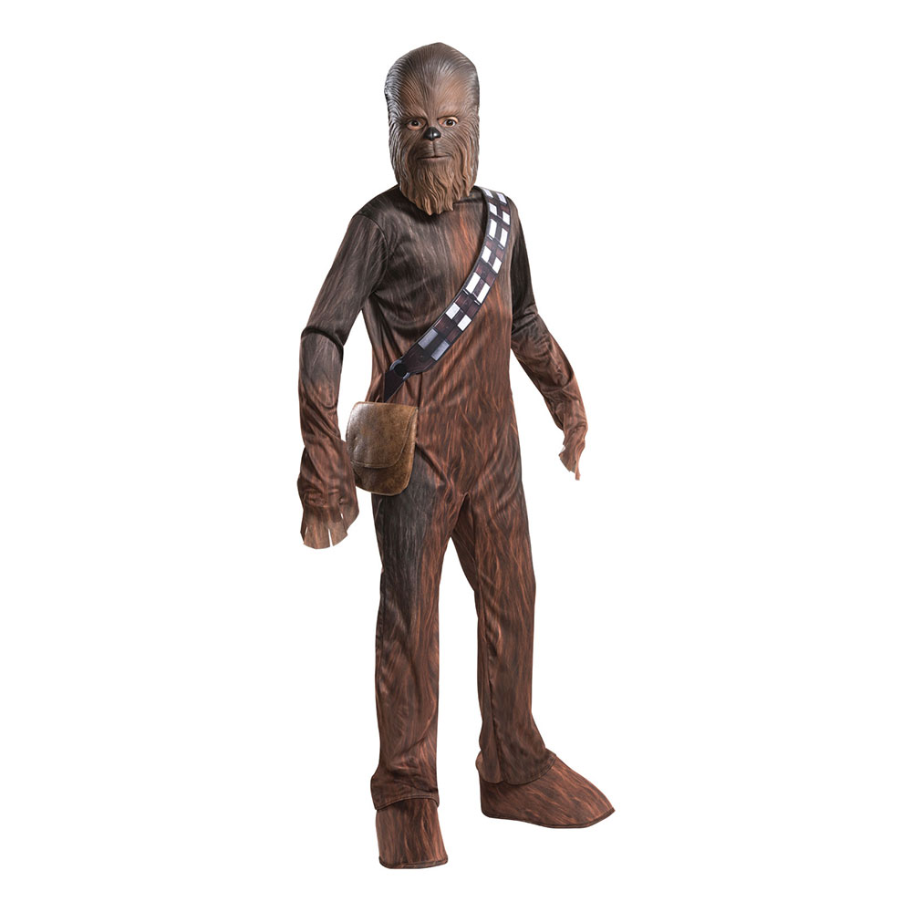 Chewbacca Barn Budget Maskeraddräkt - Medium