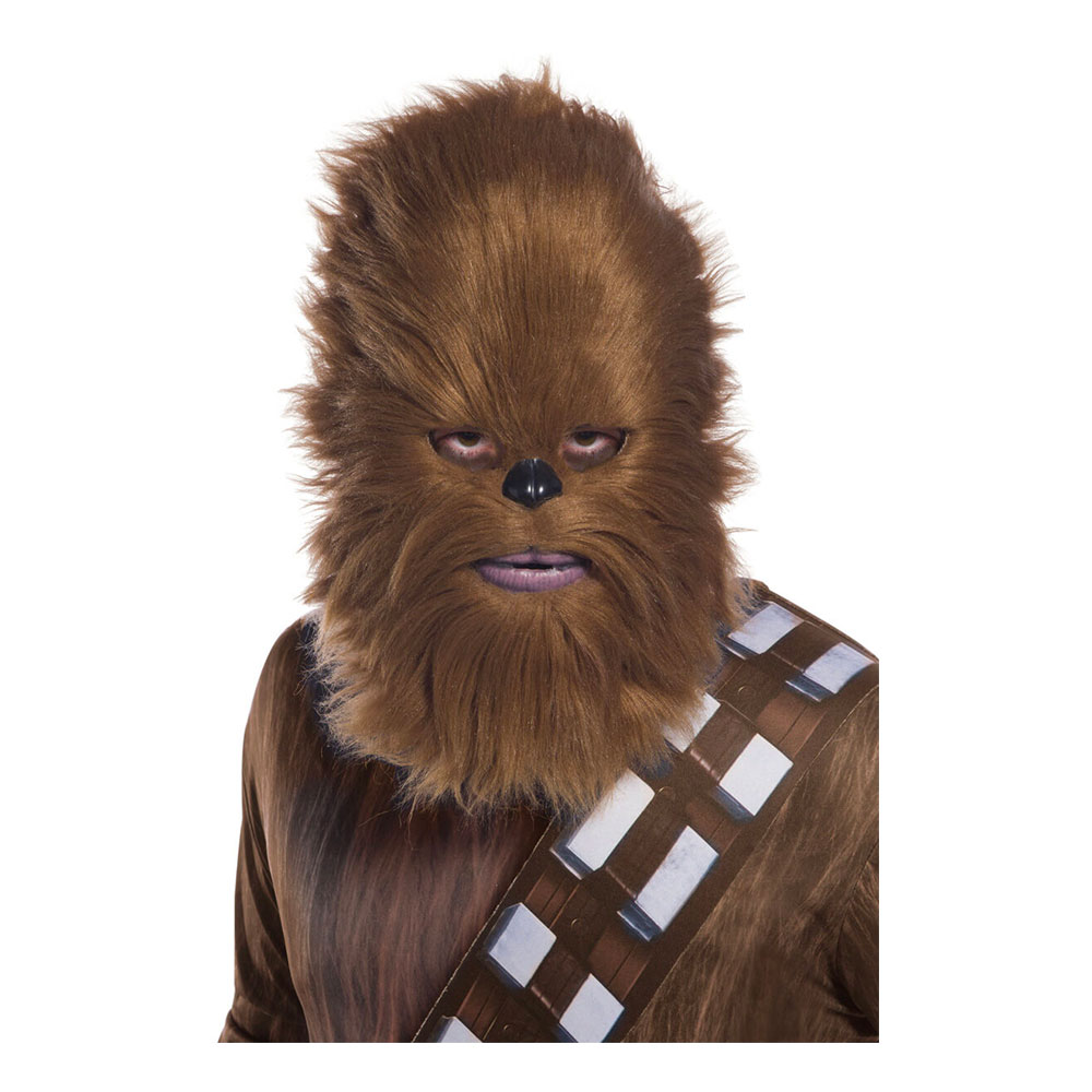 Chewbacca Mask med Hår - One size