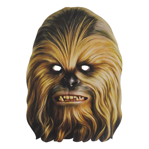 Chewbacca Pappmask - One size