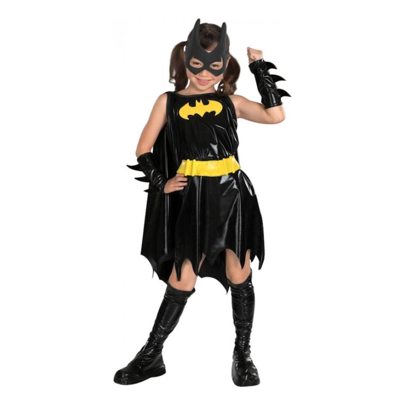Batgirl Barn Maskeraddräkt - Small