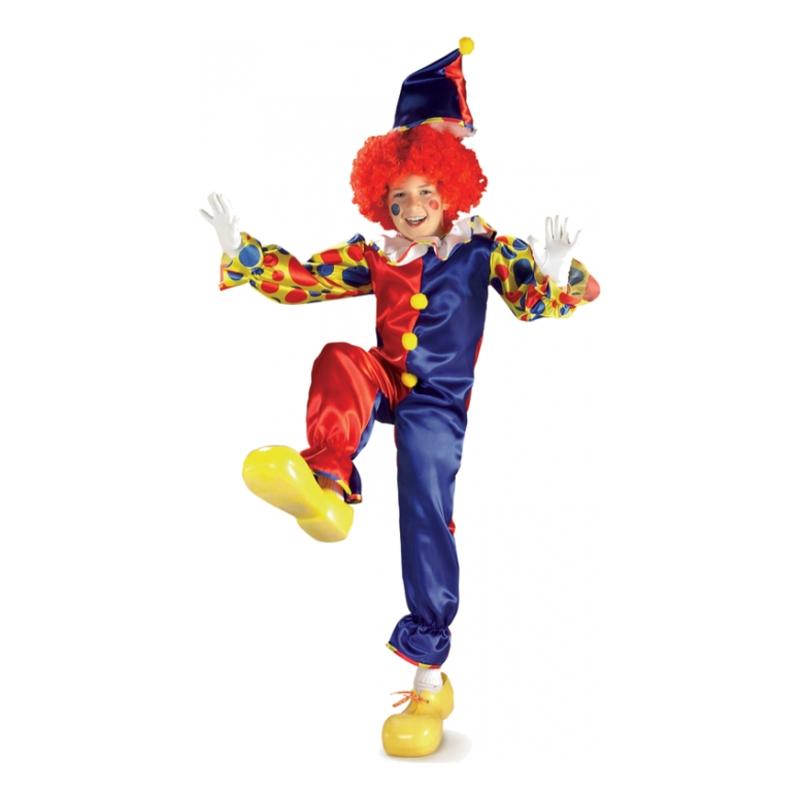 Bubbles the Clown Barn Maskeraddräkt - Small