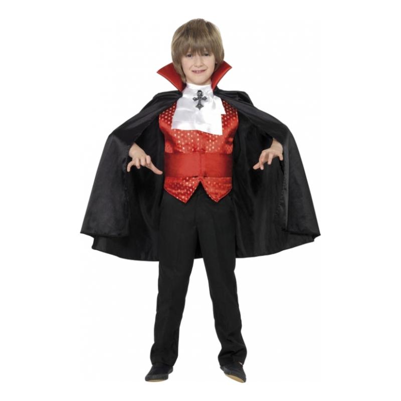Greve Dracula Barn Maskeraddräkt - Medium