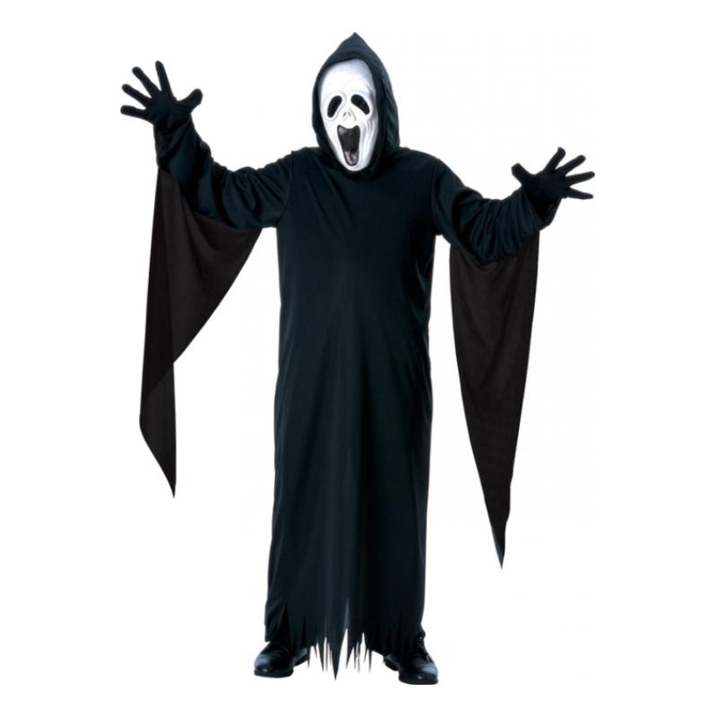 Skrikande Spöke Barn Maskeraddräkt - Medium