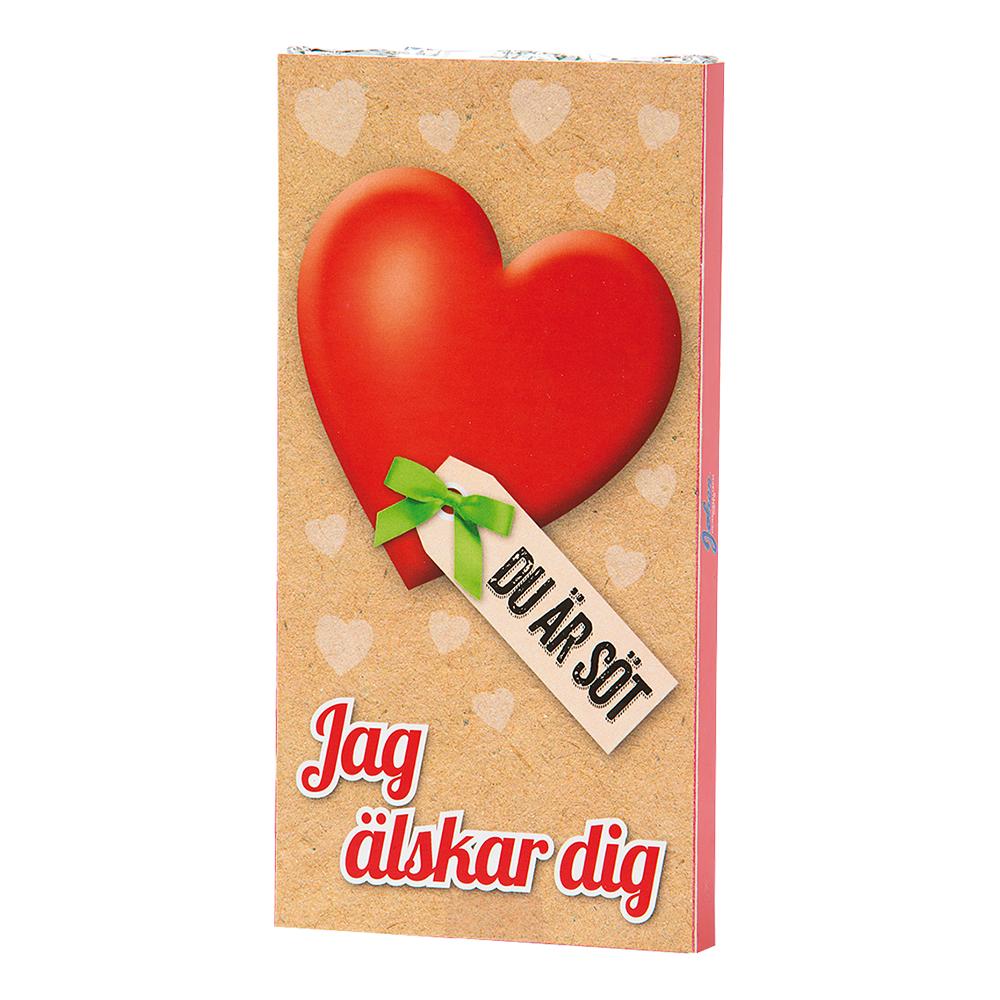 Chokladkaka Jag älskar dig