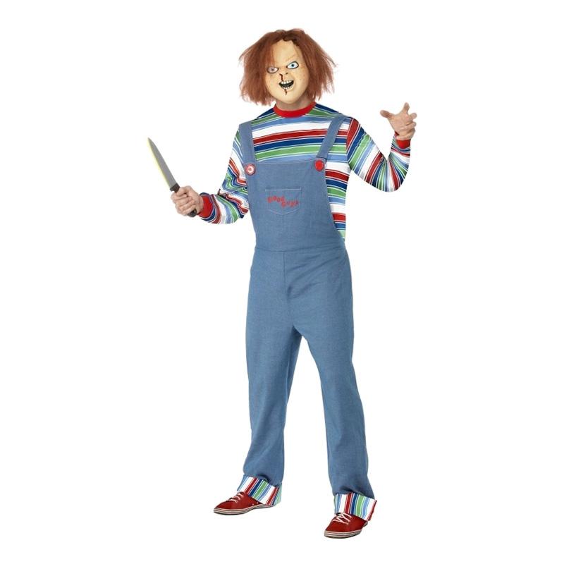 Chucky Maskeraddräkt - Medium