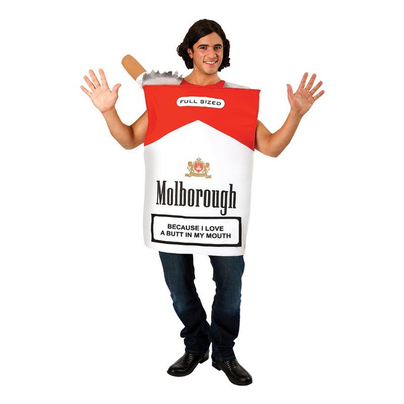 Cigarettpaket Maskeraddräkt - One size