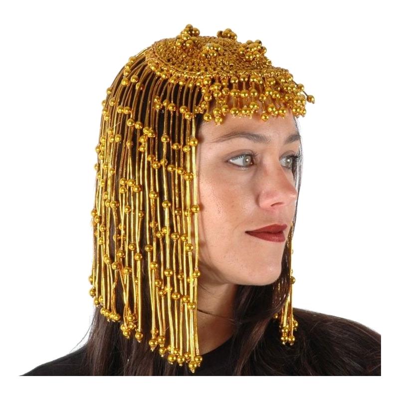 Cleopatra Huvudbonad med Smycken
