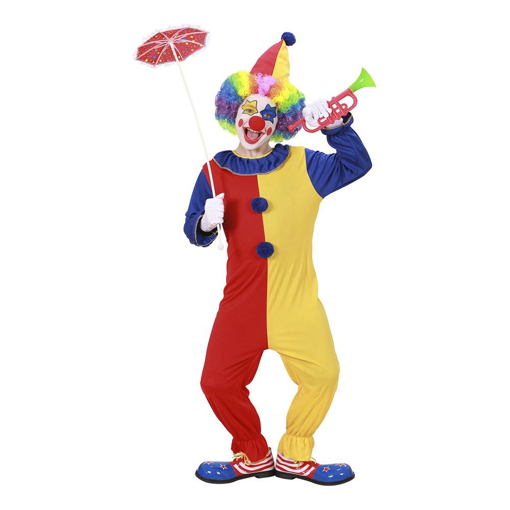 Clown Barn Maskeraddräkt - Small