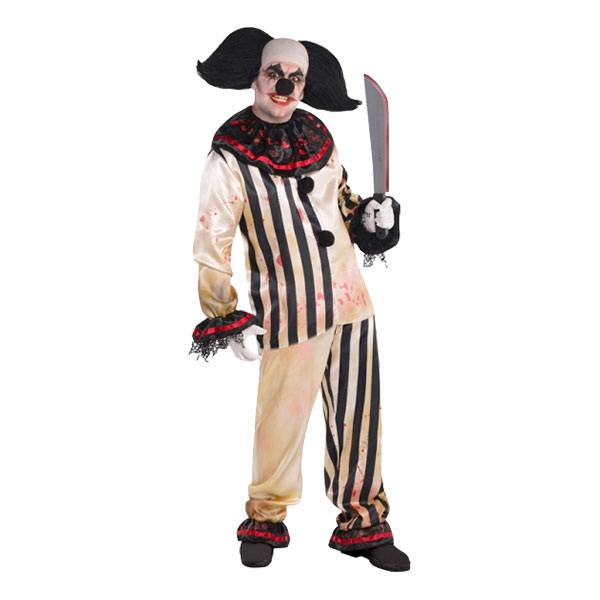 Clown Freakshow Maskeraddräkt - One size