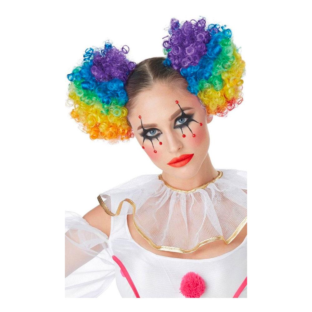 Clown Hårtofsar Krulliga