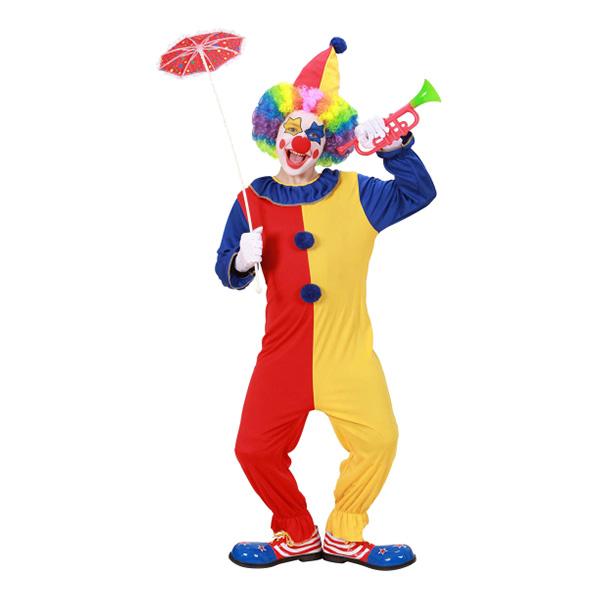 Clowndräkt Barn Maskeraddräkt - Medium