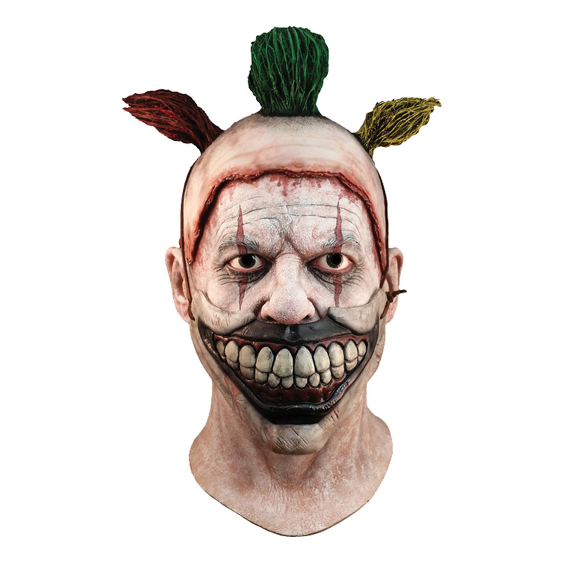 Clownen Twisty Latexmask - One size